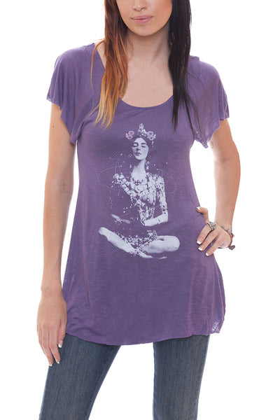 Temple Girl Goddess Tee