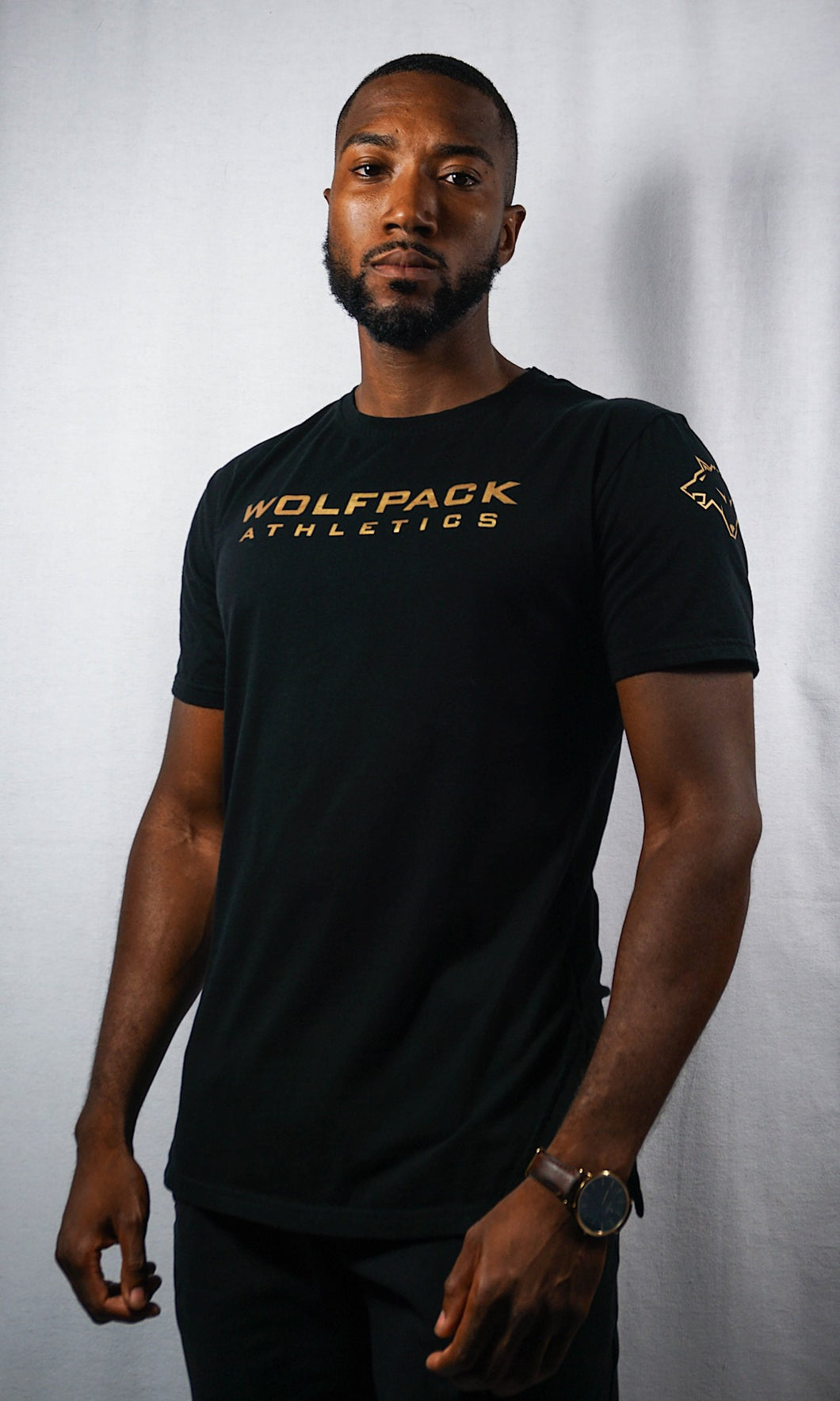 WOLFPACK Performance Tee - Black