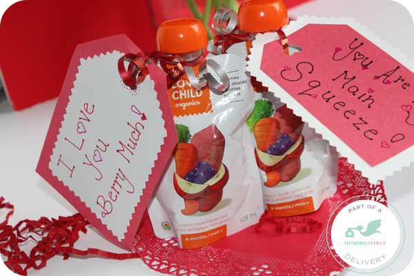 Love Child Organics Valentine's Day fun