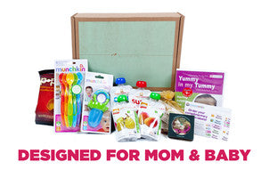 Boxes Designed for Mom & Baby