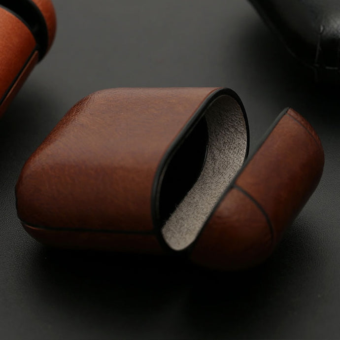 Premium Leather AirPod Case Cover