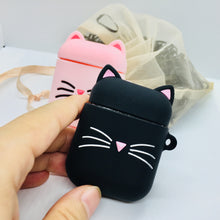 Load image into Gallery viewer, Meow Cat AirPod Case Cover