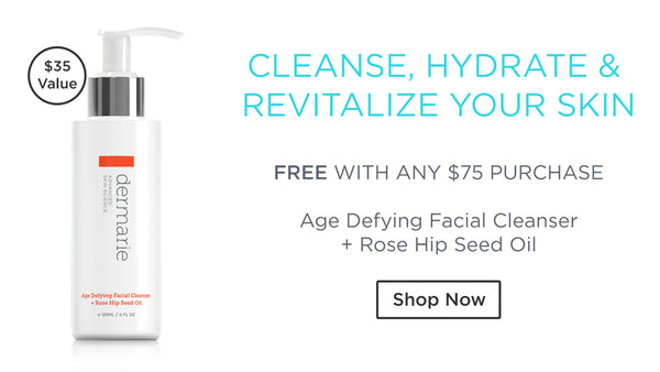 Free Age Defying Facial Cleanser with any $75 purchase