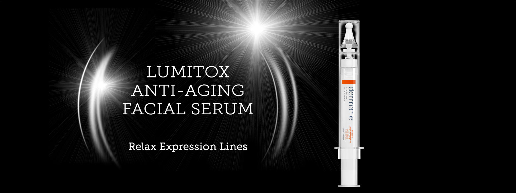 Lumitox Anti-aging Facial Serum for Expression Lines & Wrinkles