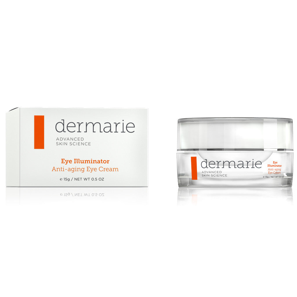 Dermarie Anti-aging Eye Cream 0.5 Oz. Silver Jar