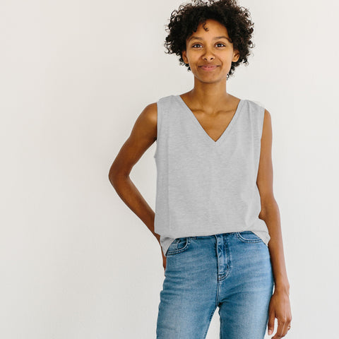The Muscle Tank - Ash Grey