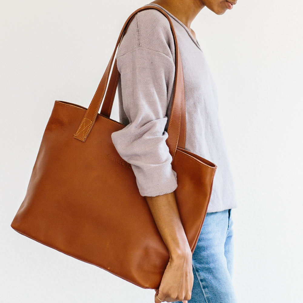 The Leather Tote