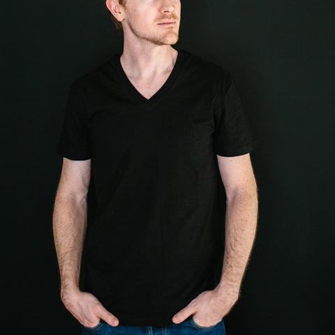 The Vee Tee - Black