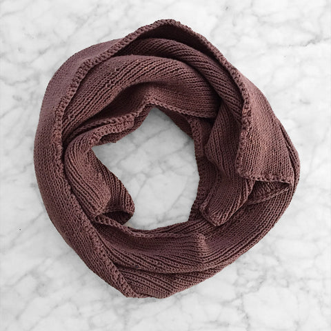 The Ribbed Scarf - Clay