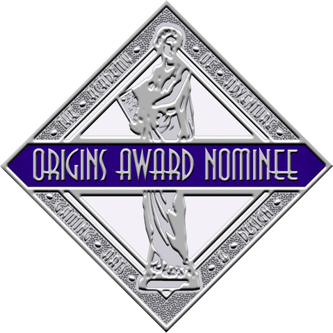 Nominated for an Origins Award! (Roleplaying Game category, 2018)