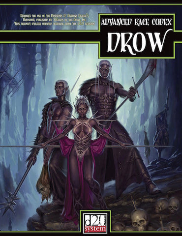 Advanced Race Codex: Drow (PDF)