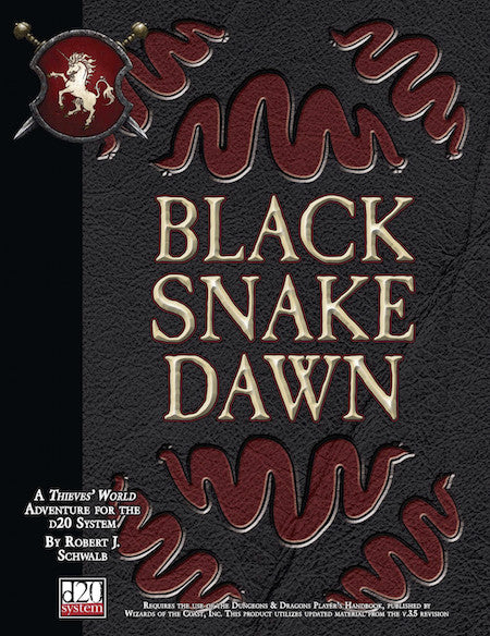 Thieves' World Adventure: Black Snake Dawn (PDF)