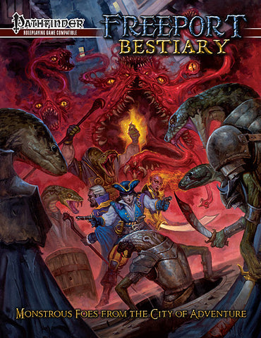 Freeport Bestiary for the Pathfinder RPG (Pre-Order)
