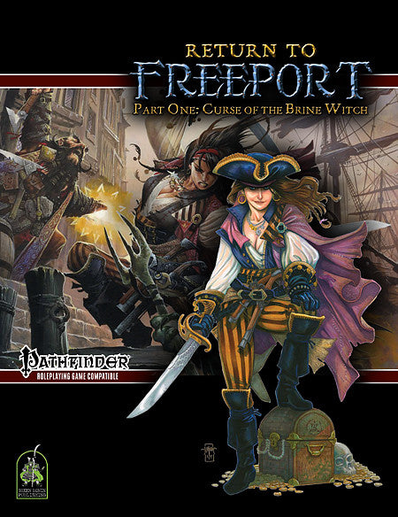Return to Freeport, Part One: Curse of the Brine Witch (Pathfinder Adventure PDF)