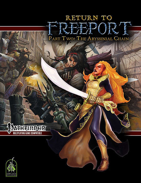 Return to Freeport, Part Two: The Abyssinial Chain (Pathfinder Adventure PDF)