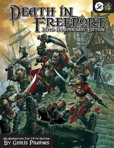Death in Freeport: 20th Anniversary Edition (5e PDF)
