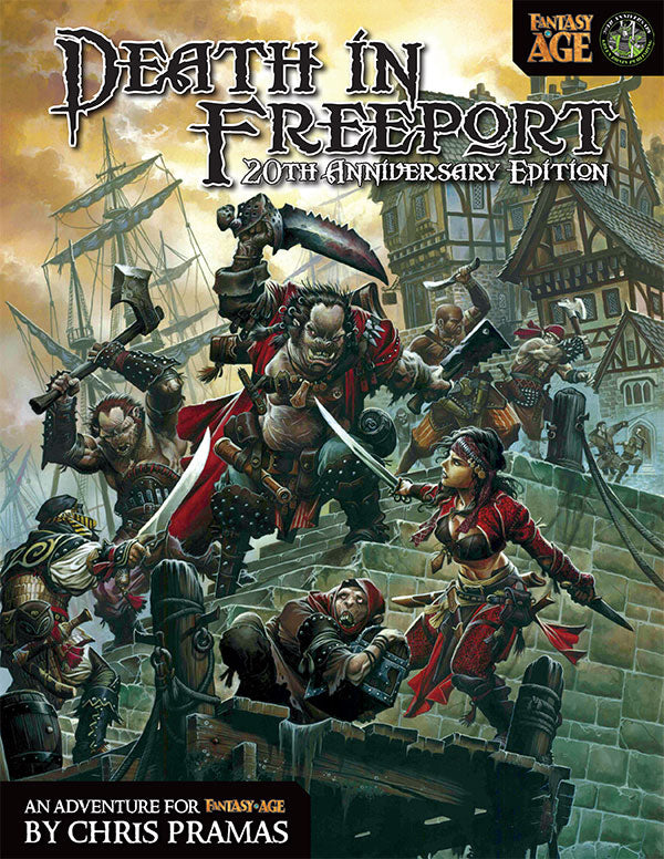 Death in Freeport: 20th Anniversary Edition (Fantasy AGE PDF)