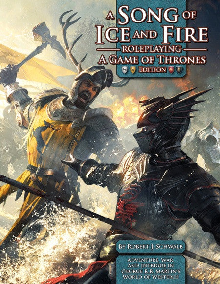 A Song of Ice and Fire Roleplaying: A Game of Thrones Edition (Print)