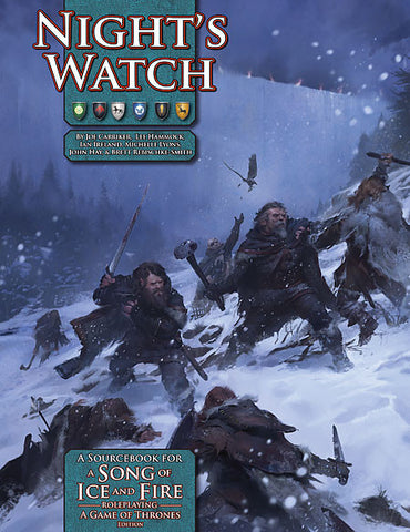 A Song of Ice and Fire Roleplaying: Night's Watch (Print)