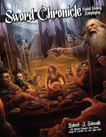 Sword Chronicle: Feudal Fantasy Roleplaying (PDF)