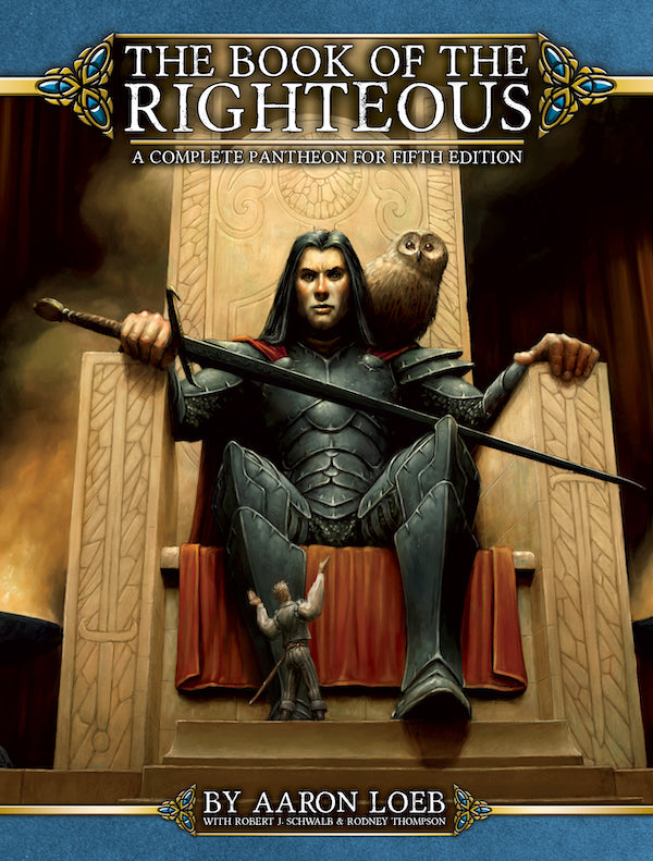 The Book of the Righteous: Fifth Edition RPG (T.O.S.) -  Green Ronin