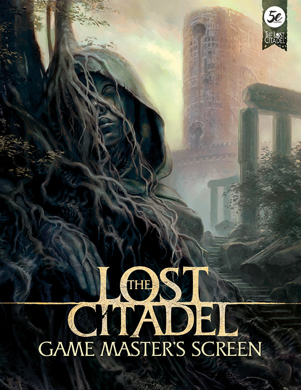 The Lost Citadel GM Screen (5E PDF)