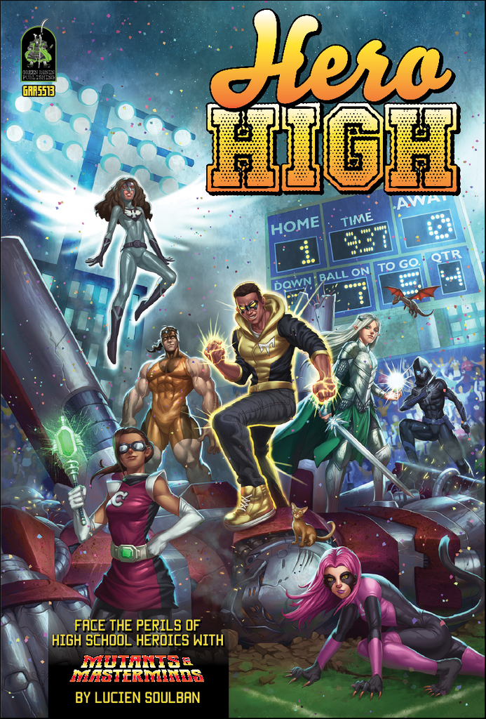 Hero High, Revised Edition (PDF)