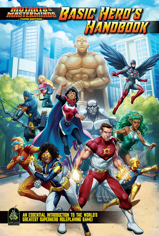 Mutants & Masterminds Basic Hero's Handbook (Pre-Order)
