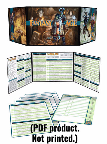 Fantasy AGE Game Master's Kit (PDF)