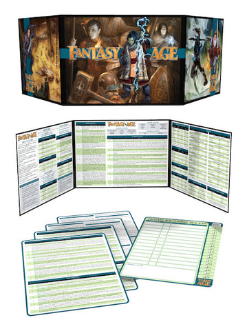 Fantasy AGE Game Master's Kit