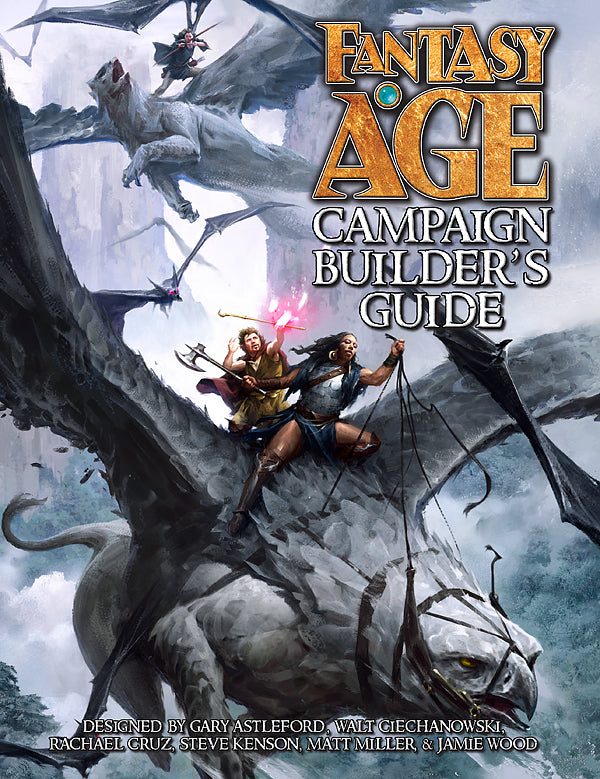 Fantasy AGE Campaign Builders Guide -  Green Ronin