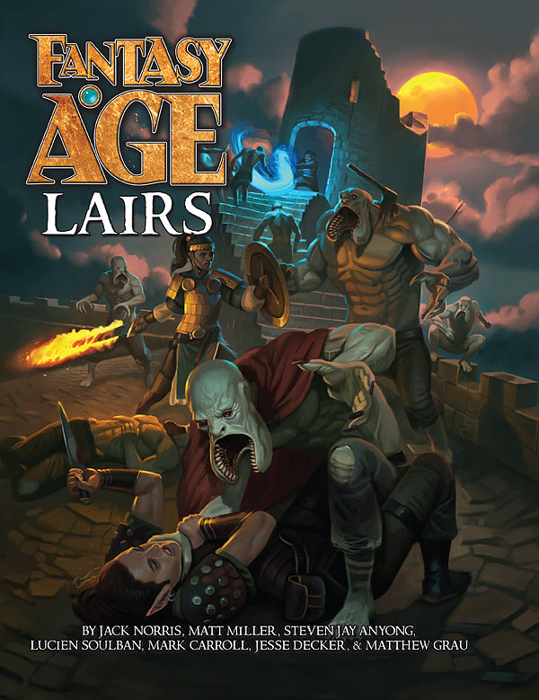 Fantasy AGE Lairs