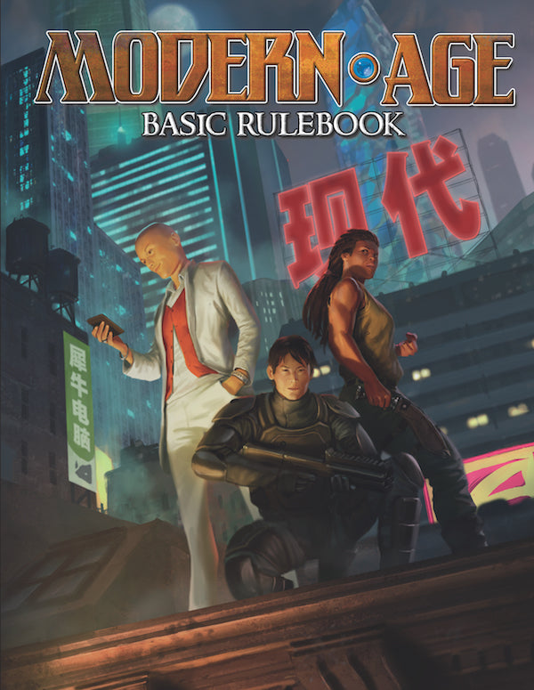 Modern AGE Basic Rulebook - Green Ronin Online Store