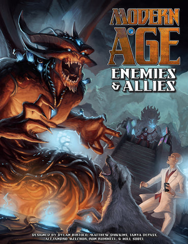 Enemies & Allies: Non-Player Characters and Creatures for Modern AGE [Pre-Order]