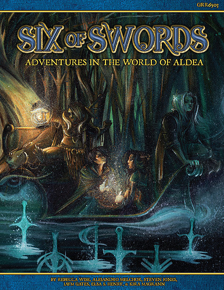 Six of Swords- Blue Rose: The AGE RPG of Romantic Fantasy -  Green Ronin