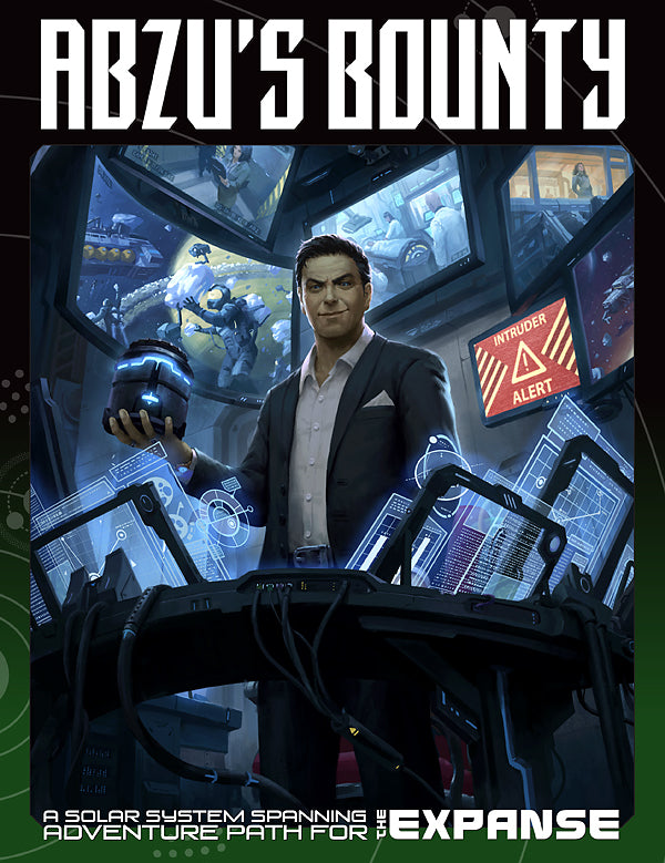 Abzu's Bounty: An Adventure Path PDF for The Expanse RPG