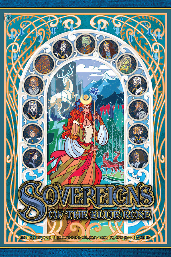 Sovereigns of the Blue Rose (Fiction Anthology)