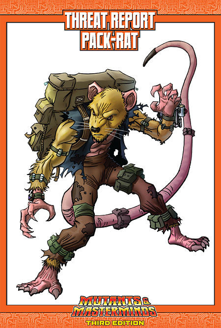 Mutants & Masterminds Threat Report #01: Pack-Rat (PDF)