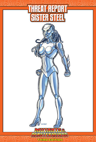 Mutants & Masterminds Threat Report #13: Sister Steel (PDF)