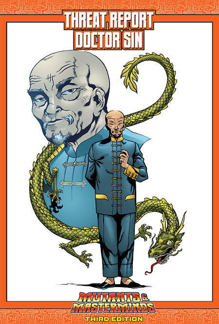 Mutants & Masterminds Threat Report #32: Doctor Sin (PDF)