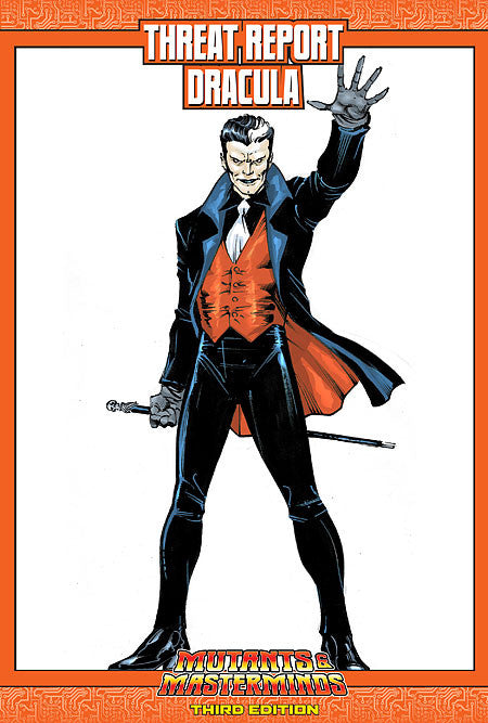 Mutants & Masterminds Threat Report #43: Dracula (PDF)