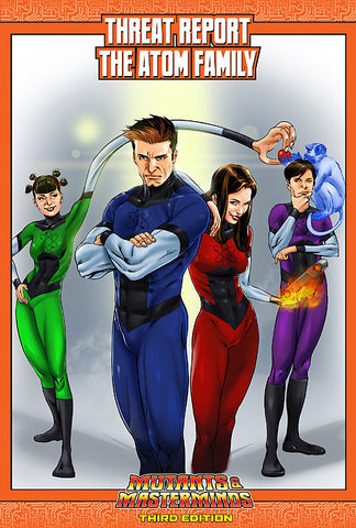 Mutants & Masterminds Threat Report #51: The Atom Family (PDF)