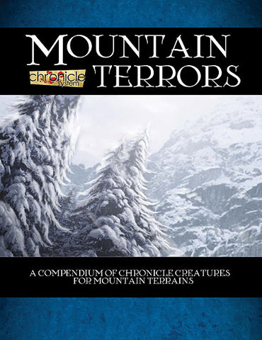 Mountain Terrors (Chronicle System PDF)