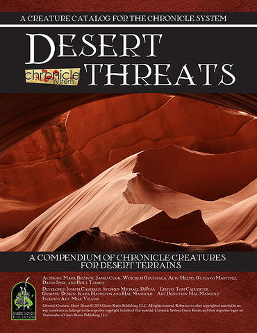 Desert Threats (Chronicle System PDF)