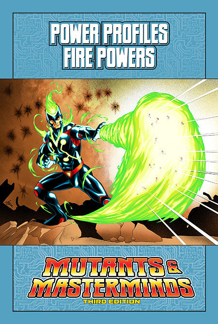 Mutants & Masterminds Power Profile: Fire Powers (PDF)