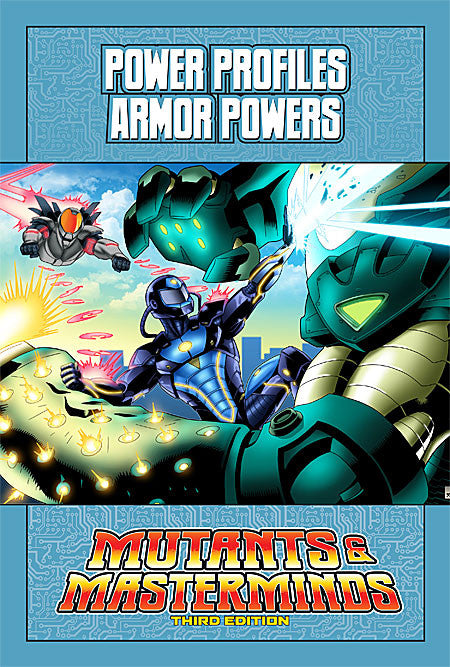 Mutants & Masterminds Power Profile: Armor Powers (PDF)