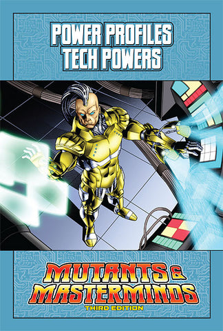 Mutants & Masterminds Power Profile: Tech Powers (PDF)