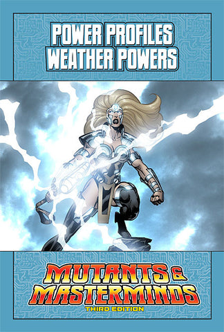 Mutants & Masterminds Power Profile: Weather Powers (PDF)