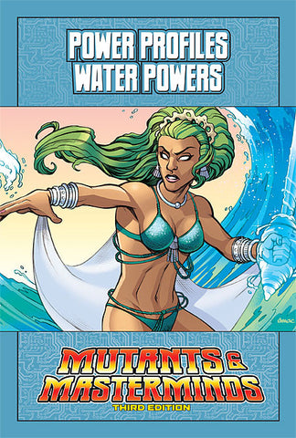 Mutants & Masterminds Power Profile: Water Powers (PDF)