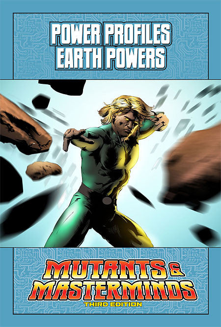 Mutants & Masterminds Power Profile: Earth Powers (PDF)